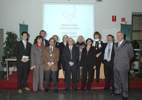 Académicos Fundadores y Curso 2008