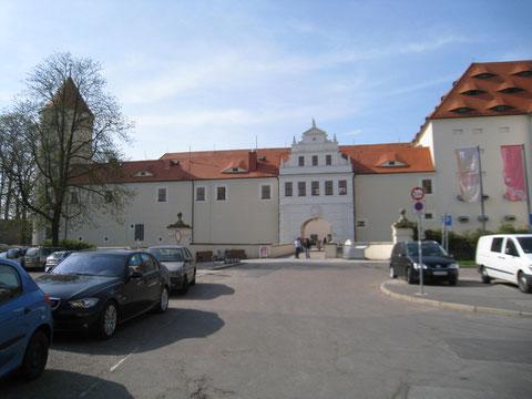 """Beherbergt  die Mineralienschau """"terra mineralia"""": Das Schloss Freudenstein in Freiberg"""