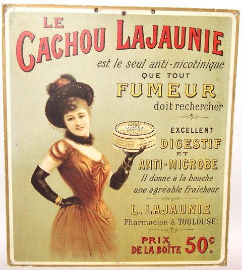 Le Cachou Lajaunie Pappschild