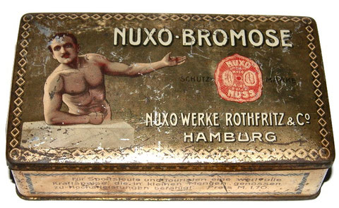 Nuxo-Bromose Hamburg Ernährungs Ergänzung für Body Builder