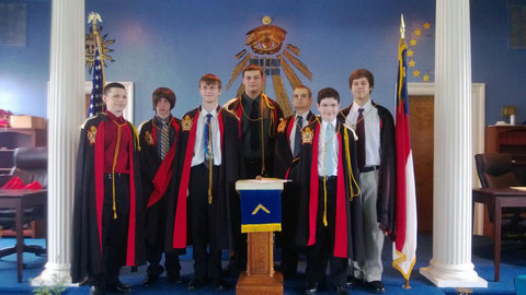 DeMolay Installation of Officers, February 2013