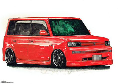 車の絵イラスト