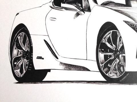 車絵イラスト