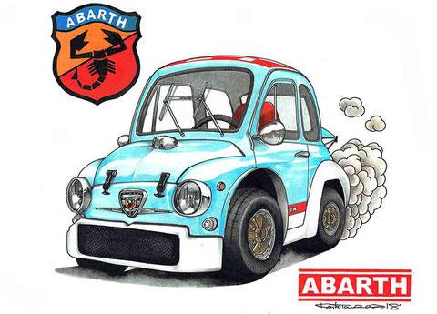 アバルト1000TCR