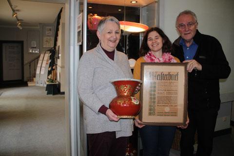 von links: Elisabeth ten Berge, Renate Buntz und Rainer-Ludwig Daum