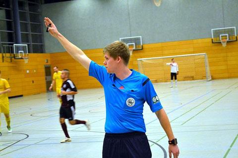 Vincent Manthey mit klarer Linie im Endspiel der 30. Kreishallenmeisterschaften