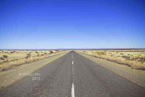 Straße in der Karoo