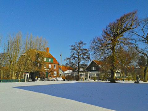 Spiekeroog im Schnee
