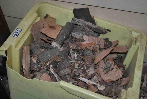 Holzbrösel - zum Anzünden oder für den Rocket Stove