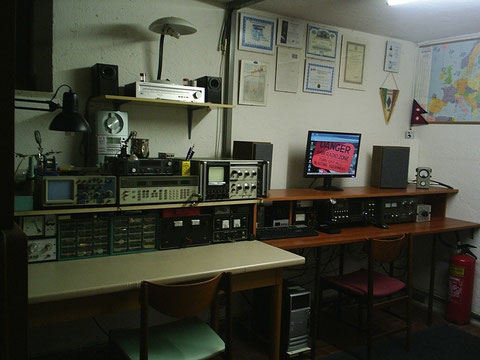 Ham Radio Station & Laboratory