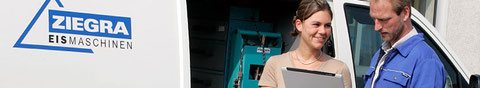 GASTRO & KÄLTETECHNIK Adamek GmbH übernimmt die Werksvertretung von ZIEGRA in NRW. Mehr zum Thema Brucheis, NuggetEis, StreamIce, Scherbeneis, Blockeis oder Stangeneis unter: http://www.ziegra.com (Link: Klick auf das Bild)