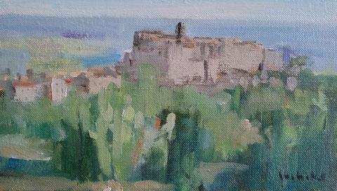 ボマルツォの朝Ⅱ M4 絵づくし展出品予定