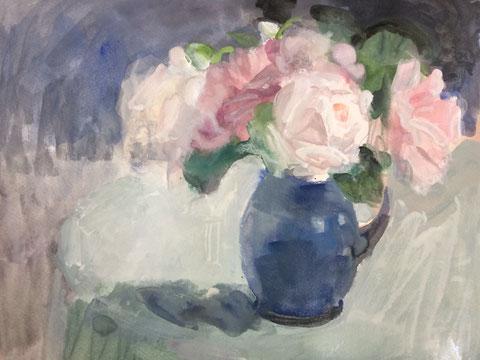 庭のバラたち 6号ガッシュ