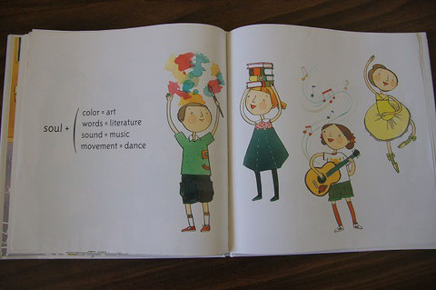 """this plus that; LIFE'S LITTLE EQUATIONS"" by Amy Krouse Rosenthal and illustrated by Jen Corace."