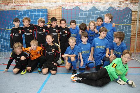 F3 TSV Poing und FC Ausgburg