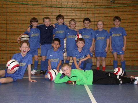 TSV Poing F3 Team Hallenturnier Putzbrunn