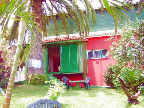Urlaub im gemütlichen Ferienapartment mit Garten in La Luz , La Orotava auf Teneriffa