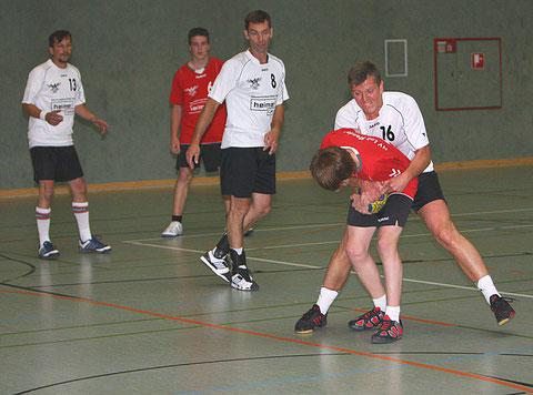 v.l.:Thomas Nehl, Lucas Walter, Jörg Schulze, Robert Stephan und Stefan Leinung