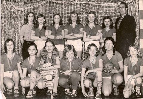 3. Platz und die Bronze-Medaille bei der 2. DDR -Meisterschaft 1974/1975 in Erfurt