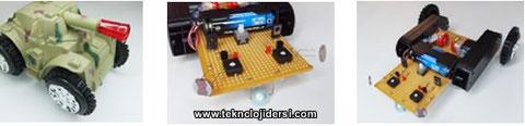 ışık izleyen robot yapımı