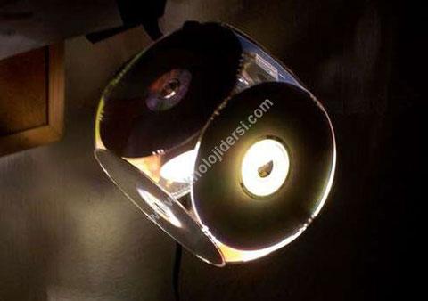 CD den Yapılmış Farklı Tasarım ve Etkinlik Örnekleri
