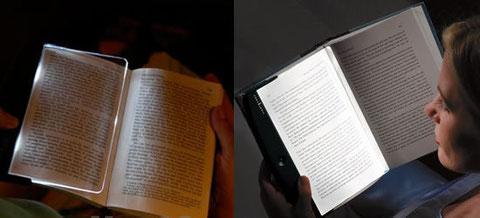 karanlık ortamlarda kitap okuma lambası