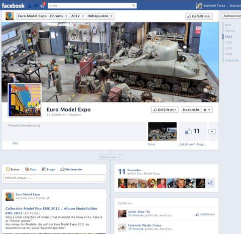 Veranstaltungsseite der EME bei Facebook