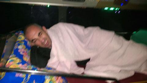 Nachtbuss von Phonsavan nach Vientiane / spannend und schmerzhaft