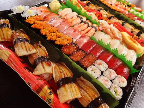 お彼岸用の寿司 出前可能 江東区