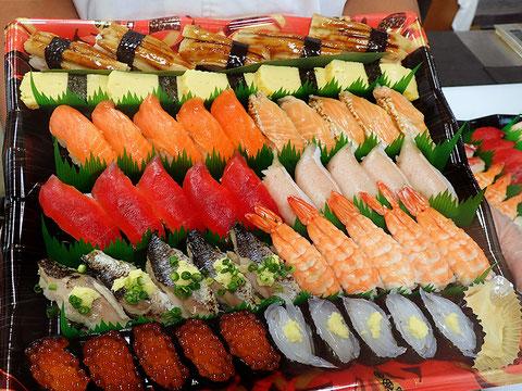 お彼岸用のお寿司 出前 江東区