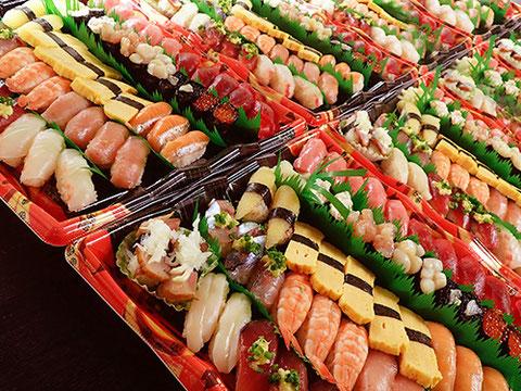 お彼岸 宅配 寿司  出前
