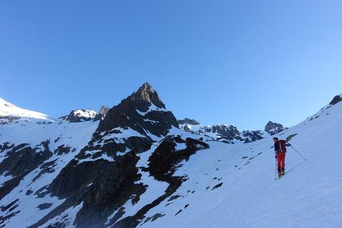 Skitour, Schweiz, Zwächten, Gross Spannort, Bärenstock, Meiental, Gorezmettlen, Rossbiel, Rossfirn, Chüefad
