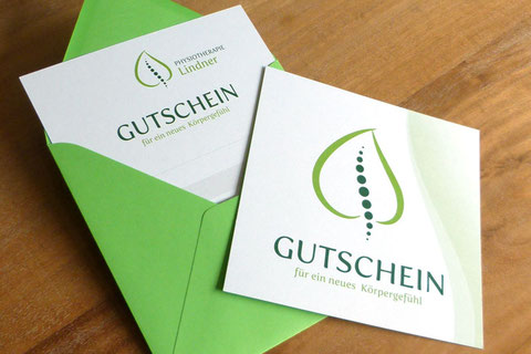 Gutschein Physiotherapie Lindner