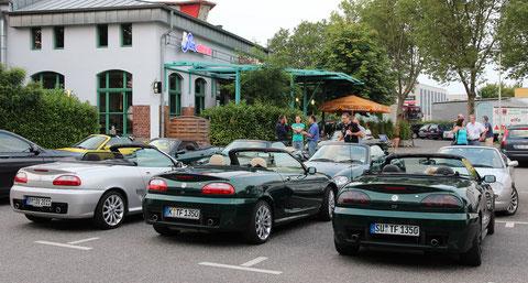 Leider hatten wir keinen Platz um unsere Lieblinge in Formation auf dem Parkplatz aufzustellen