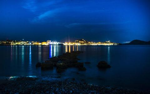 Portoferraio by night