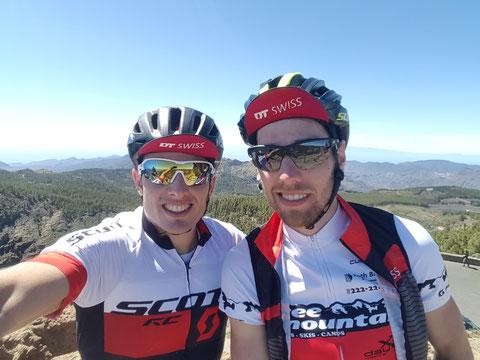Top of Gran Canaria - Pico de las Nieves 1949m.ü.M mit Adrian Haller