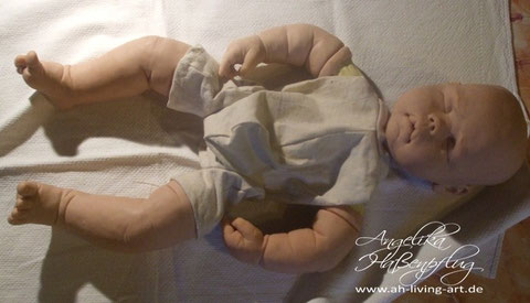Sculpt turtorial Baby doll Kit ooak Puppe Reborn