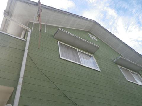 外壁塗装前 東面