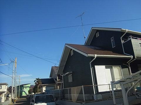 熊本T様家。屋根塗装と外壁塗装完成写真。AFTER グリーン外壁とブラウン屋根