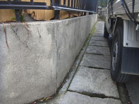 塀塗り替えBEFORE