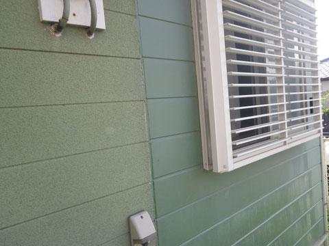 熊本T様家外壁塗装前。BEFORE