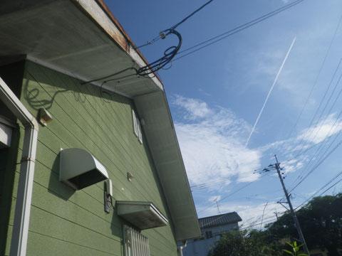 西側外壁塗装前 BEFORE 熊本T様家