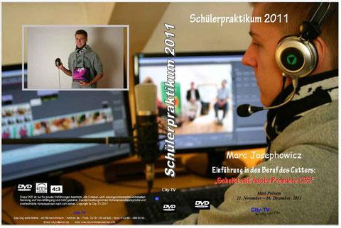 Das Cover für die Box seiner Abschluss DVD.