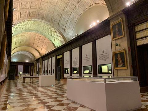 Una sala del Archivo General de Indias. Foto: M. de C. y D.