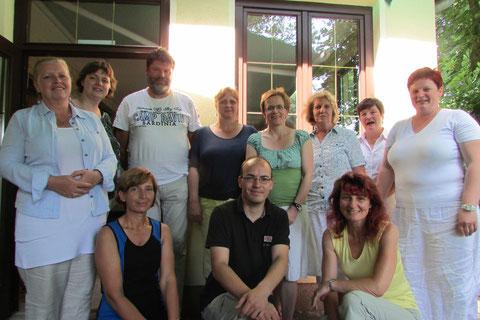 Unser Lehrerkollegium im Sommer 2013