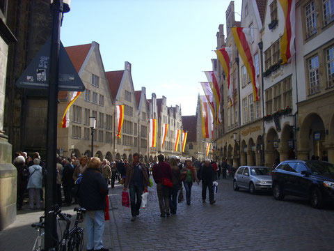 Münster im Flaggenschmuck, WK
