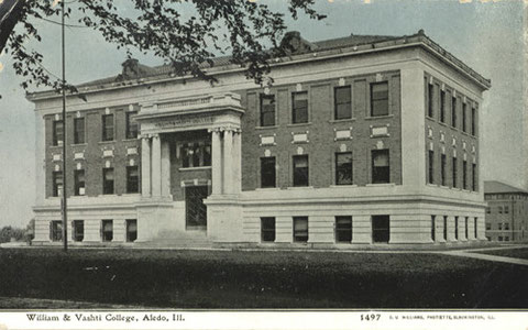 William & Vashti College, Aledo, Ill. (1908-1918)