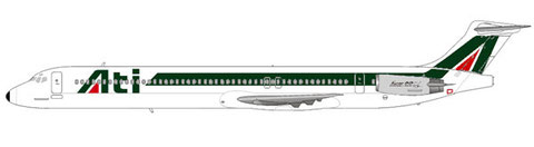 Logo und Farben an Alitalia angepasst/Courtesy and Copyright: md80design