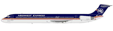 Midwest Express MD-82 mit modifiziertem Farbschema/Courtesy and Copyright: md80design