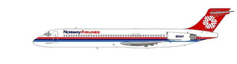 Norway Airlines MD-87/Courtesy and Copyright: md80design